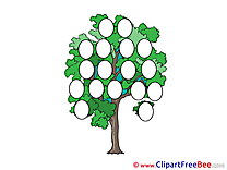 Clip Art download Family Tree