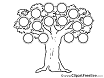 Clipart Family Tree free Images