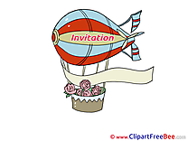 Aerostat Invitations Greeting Cards