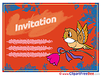 Bird Greeting Cards Invitations