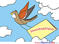 Bird Wishes Invitations Greeting Cards