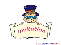 Boy Invitations Wish Card