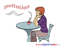 Coffee Wishes Invitations free eCards