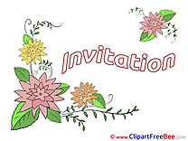 Download Flowers Invitations Greeting Cards