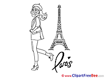 Eiffel Tower Invitations free eCards download