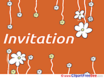 Flowers printable Greeting Cards Invitations