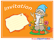 Grandfather Greeting Cards Invitations