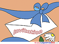 Letter Invitations download Greeting Cards