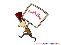 Man Invitations Greeting Card for free