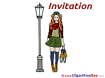 Rendezvous Invitations free eCards download
