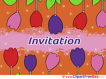 Tulips Invitations Greeting Cards