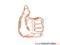 Clipart Thumbs up free Images