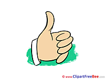 Clipart Thumbs up Illustrations