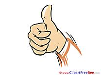Pics Thumbs up Illustration