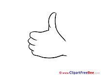 Printable Thumbs up Images
