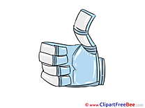 Robot Thumbs up download Illustration