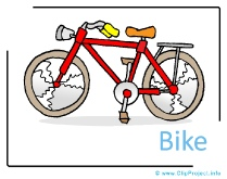 Bike Clipart free - Transportation Pictures free
