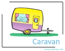 Caravan Clipart free - Transportation Pictures free