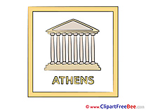 Athens Greece Pics printable Cliparts
