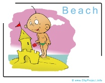 Beach Clipart Image free - Travel Clipart free