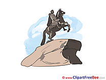 Bronze Horseman free Illustration download