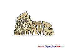 Colosseum Rome printable Images for download