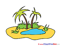 Oasis Palms printable Images for download