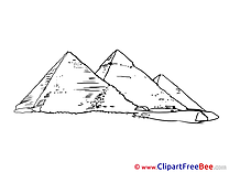 Pyramids Pics download Illustration