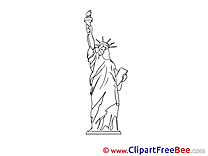 Statue of Liberty Pics download Illustration