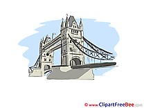 Tower Bridge London Pics printable Cliparts
