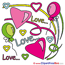Image Balloons Pics Valentine's Day free Image