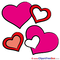 Image Hearts Valentine's Day Illustrations for free