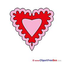 Valentine's Day  Heart download Illustration