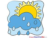 Drawing Rain Sun Pics free Illustration