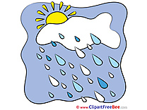 Drops Rain Cloud download Clip Art for free