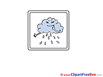 Rain Cloud Clip Art download for free