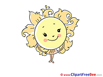 Skirt Sun Weather free printable Cliparts and Images