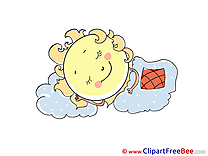 Sleeping Sun Images download free Cliparts