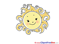 Sun Weather free Cliparts for download