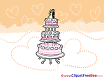 Cake printable Wedding Images