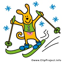 Olympic Winter Clip Art gratis