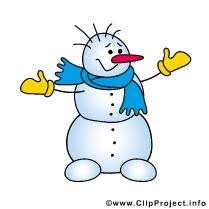 Snowman Clipart - Winter Cliparts gratis
