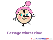 Time Clipart Winter free Images
