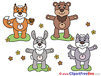 Animals Clipart free Illustrations