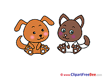 Animals Dog Cat Pics free Illustration