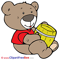 Barrel Bear Clipart free Image download