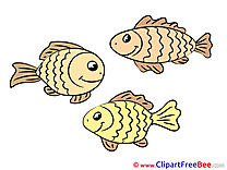 Clipart free Fishes Illustrations