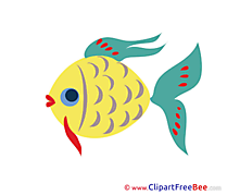 Download Fish printable Illustrations