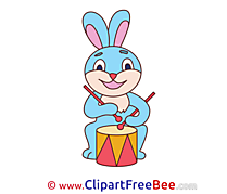 Drum Hare Clipart free Image download