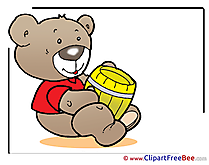 Honey Bear Pics download Illustration